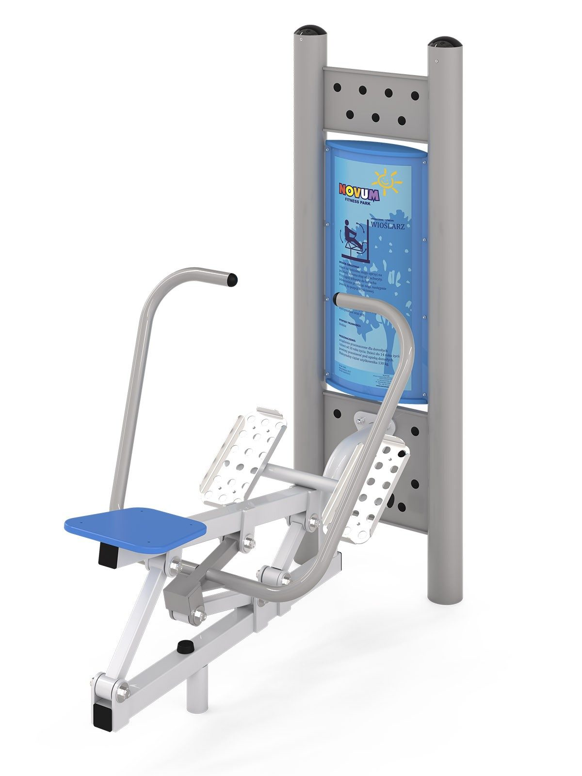 Doppel-Fitness-Station Rudermaschine 4405