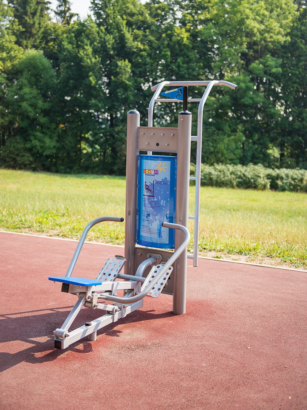 Doppel-Fitness-Station Rudermaschine 4405_8