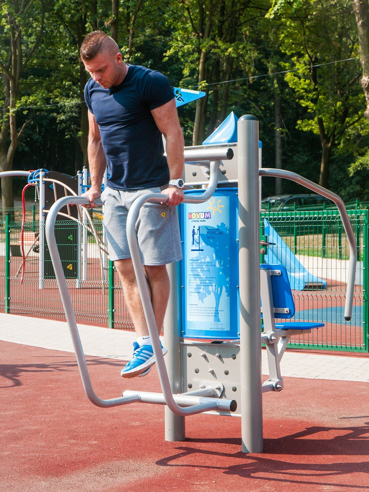 Doppel-Fitness-Station Kniehebe 4407_5