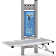 Doppel-Fitness-Station Fitness-Bank 4408