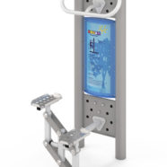 Doppel-Fitness-Station Stepper 4417