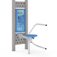 Doppel-Fitness-Station Twister-Sitz 4422